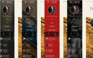 Voice Sidebar Color Styles