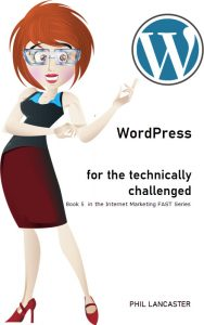 WordPress for the Technically Challenged KDP Cover
