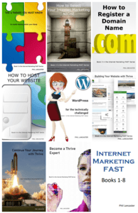 Internet Marketing FAST Books 1-8