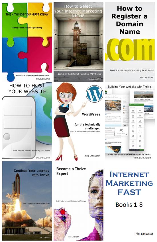 Internet Marketing FAST Books 1-8
